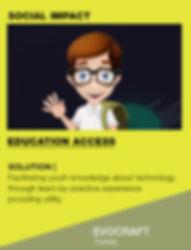Innovate4Good's Shortlisted ChangeMake | EVOCRAFT