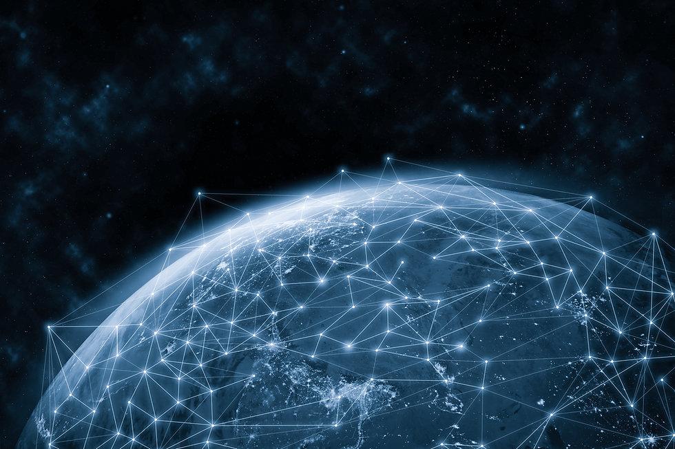 Global network modern creative telecommu