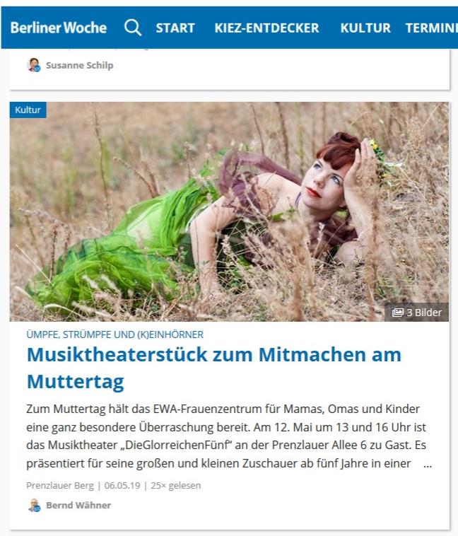Bericht der Berliner Woche