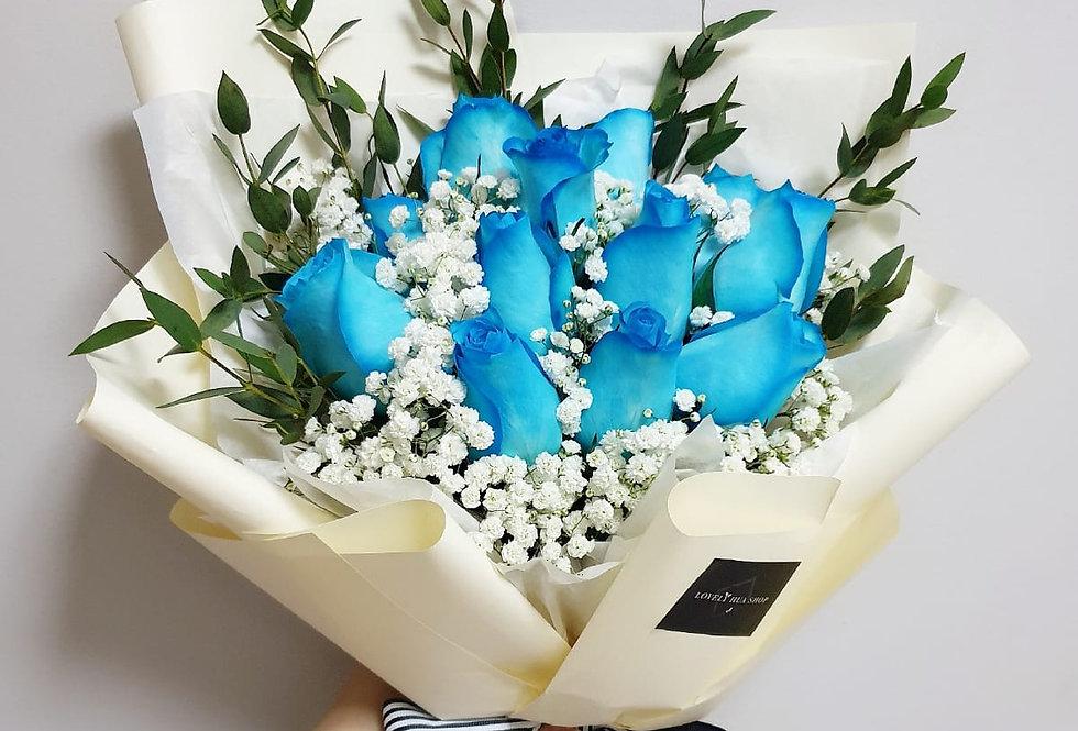 (R22) Bleu - Roses