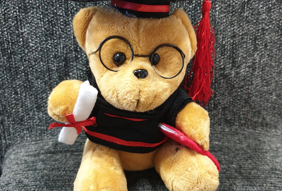 (Add-On) Graduation Bear
