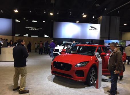 Jaguar E-Pace Thrills Public at Washington Auto Show