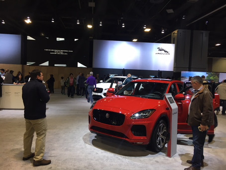 Jaguar E-Pace Thrills Public at Washington Auto Show
