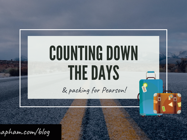 3 days left: Suitcases, farewells, and...instant ramen?