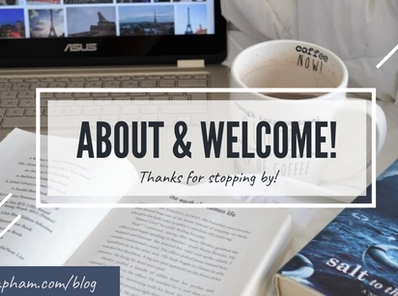 ABOUT | Welcome to my blog!
