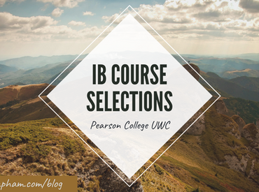 UWC Course Selection + COVID update