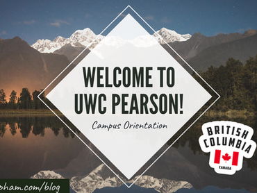 My first 3 days at Pearson United World College!