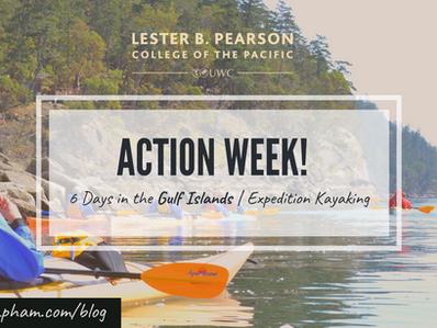 Action Week! Expedition Kayaking