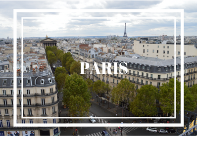 TRAVEL JOURNAL #1: Paris, FR