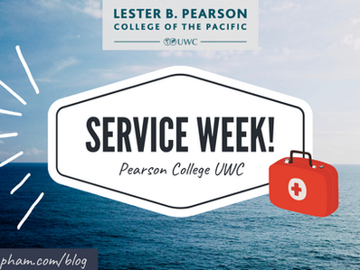 Kayaks, Blowtorches, and Wilderness First Aid. Service Week at PC UWC!