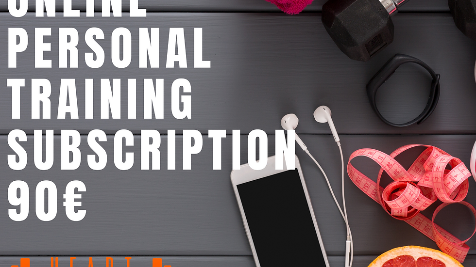 Online Personal Training Subscription