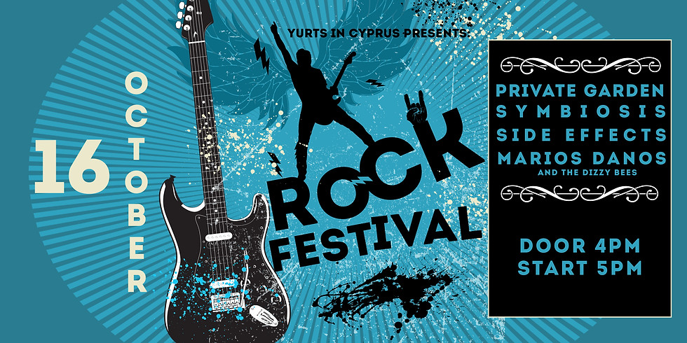 ROCK FESTIVAL AT THE YURTS
