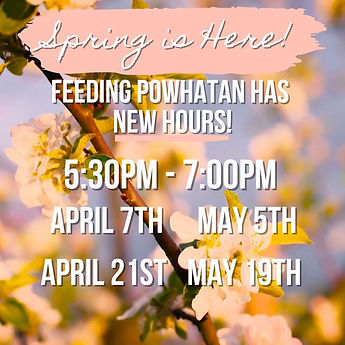 Copy of Feeding Powhatan New Spring Hour
