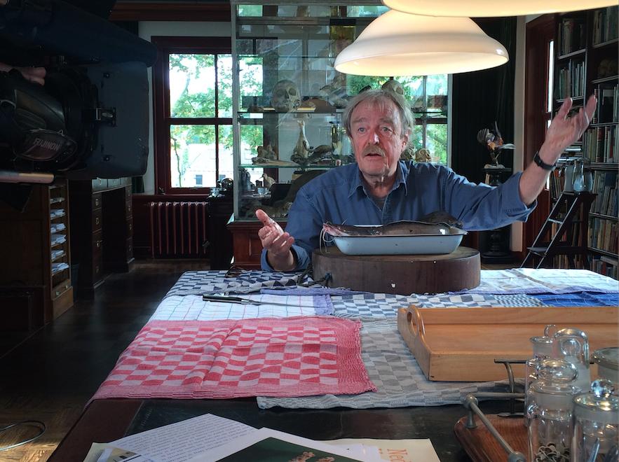 Bioloog Middas Dekkers in onze uitzending 'Vissen naar subsidie'