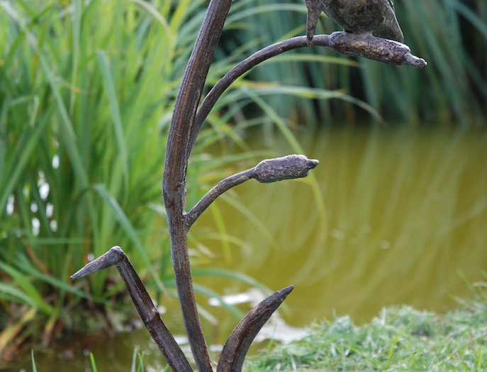 CAST IRON KINGFISHER