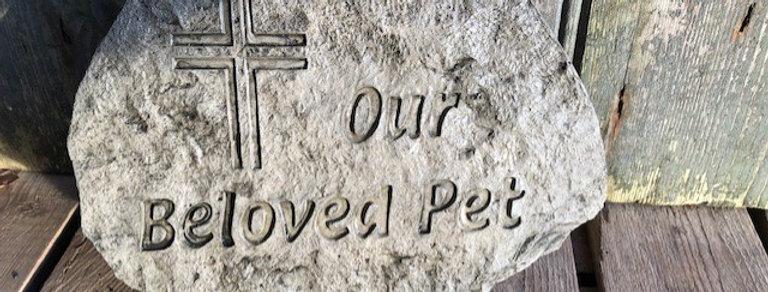 CONCRETE PET MEMORIAL