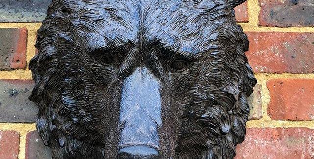 RESIN BROWN BEAR