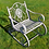 Thumbnail: GREY METAL GARDEN ROCKING CHAIR