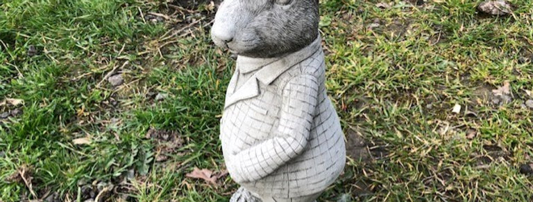 MR MOUSE GARDEN ORNAMENT