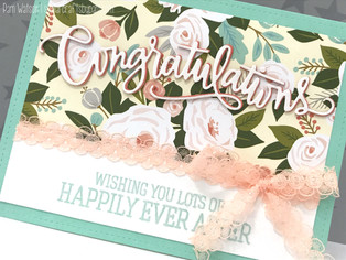 Wedding Cards | featuring CTMH and SSS Card Kit