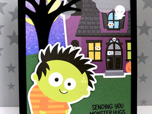 Limited Edition SSS Halloween Card Kit | Ghostly Greetings Halloween Cards