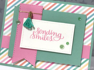 Designing a Set of Cards Using One Embellishment | featuring Simon Says Stamp & Maggie Holmes