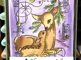 """Card Sketches featuring Creative Expressions """"Baby Dear"""""""