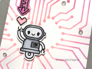Heffy Doodle Spring 2019 Release | My Heart Beeps for You Light-Up Card