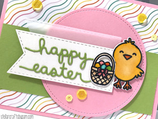 Mojo Monday 489 | Chick Easter Card featuring A Good Egg from Sunny Studio