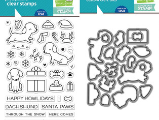 SSS STAMPtember 2016 | Lawn Fawn Happy Howlidays