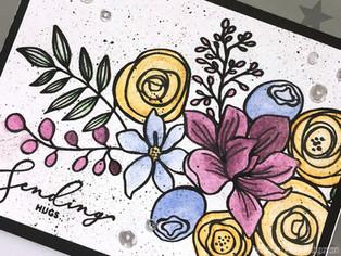 Card Making Basics: Adding Color - Watercolor Pencils