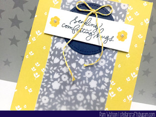 MFT Wednesday Sketch Challenge 278 | SSS July 2016 Card Kit Sending Comforting Hugs