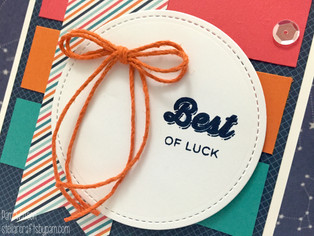 CTMH Finding the Words | Best of Luck Card