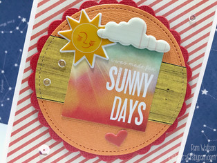 Mojo Monday 445 | SSS August 2015 Summer Sunshine Card Kit