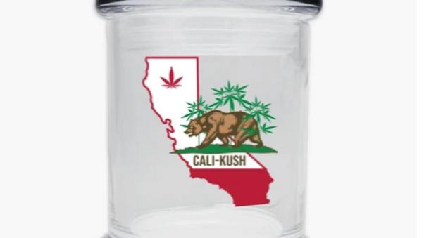Cali Kush Glass Jar 6oz