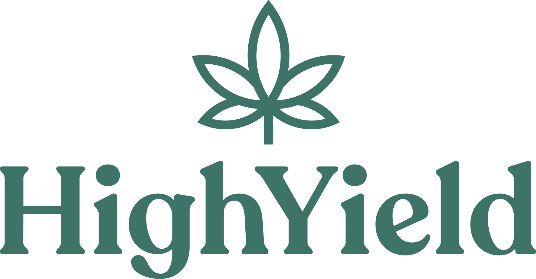High Yield Logo - green