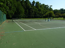 Friendly Acres tennis courts