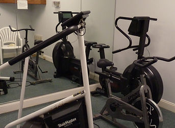 Friendly Acres fitness equipment