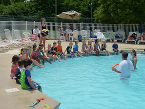 Friendly Acres pool safety lesson