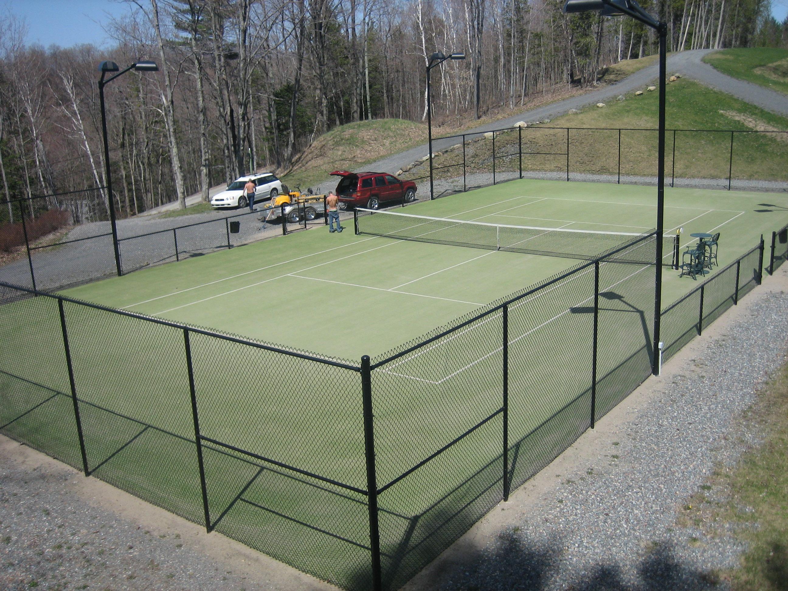 Tennis carpet