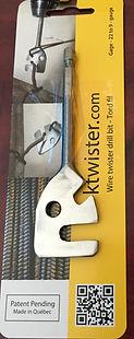 wire twister, pliers, twisting device