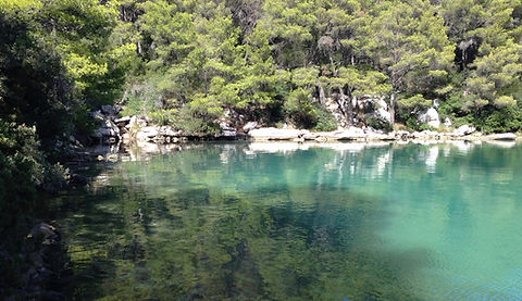 Mljet Salt Lake, National Park Mljet, Yoga retreat Joy of the Mediterranean