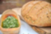 Home made Spelt Bread and Basil Pesto, Food Joy,Joy of the Mediterranean, Mljet retreat, Yoga Retreat, healthy organic food, Cooking classes during retreat, stuning unspoiled nature, Mljet, Croatia, Retreats, Yoga retreat Mljet, Cooking workshop Mljet,