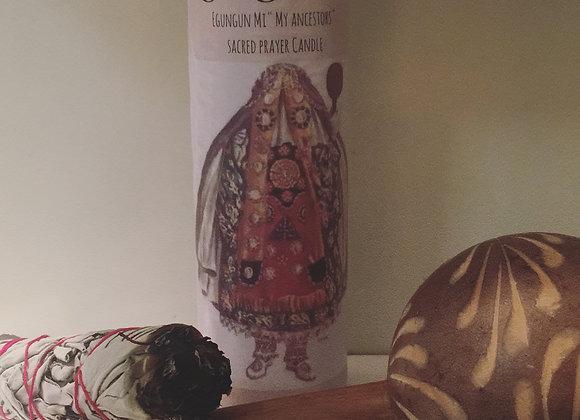 "Egungun Mi Candle "" Ancestor Candle"