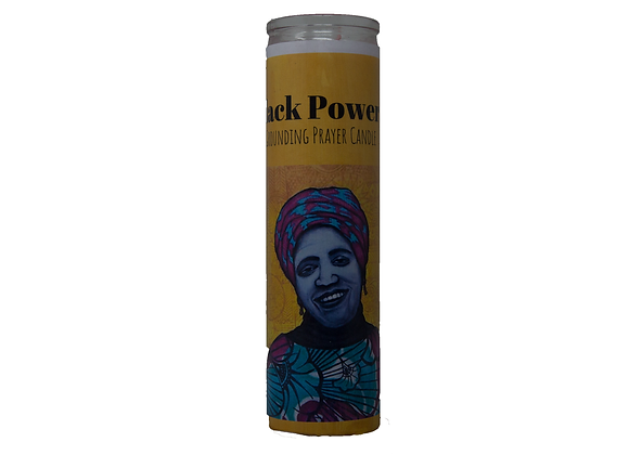Black Power Candle