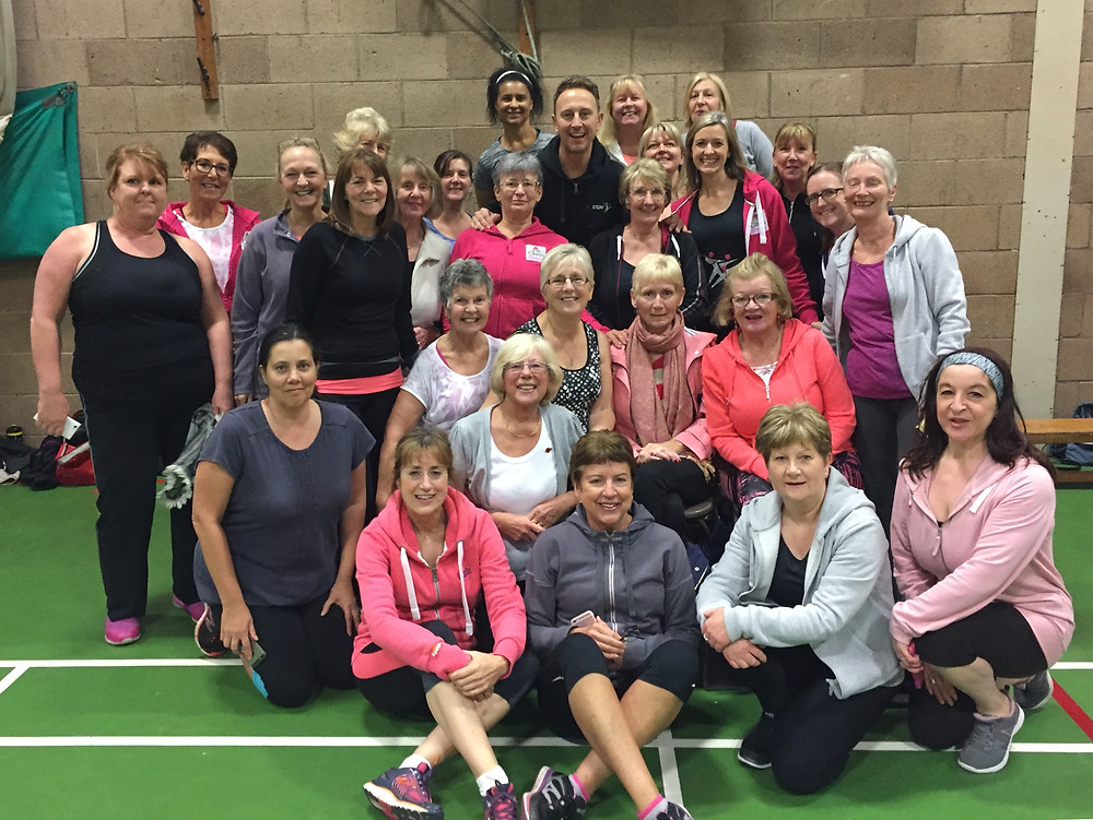 Class Fitness ladies at the Fitsteps Masterclass