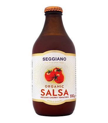 Seggiano Organic Sicilian Cherry Tomato Salsa 330g
