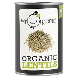 Mr Organic Green Lentils
