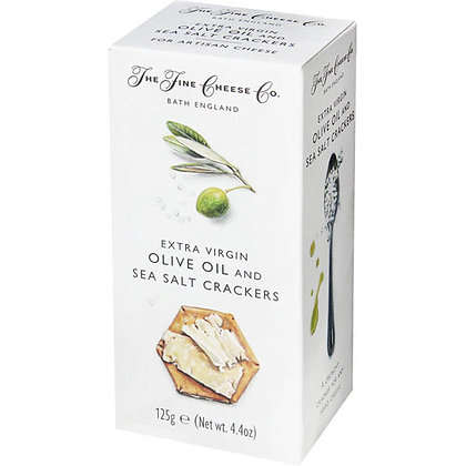 Flavoured Crackers Extra Virgin olive Oil and Sea Salt