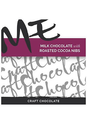 ME Milk Chocolate with Roasted Cocoa Nibs
